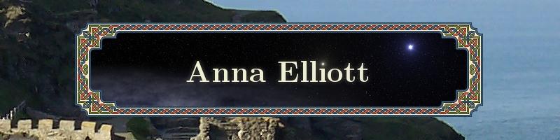 Anna Elliott Historical Fantasy Writer